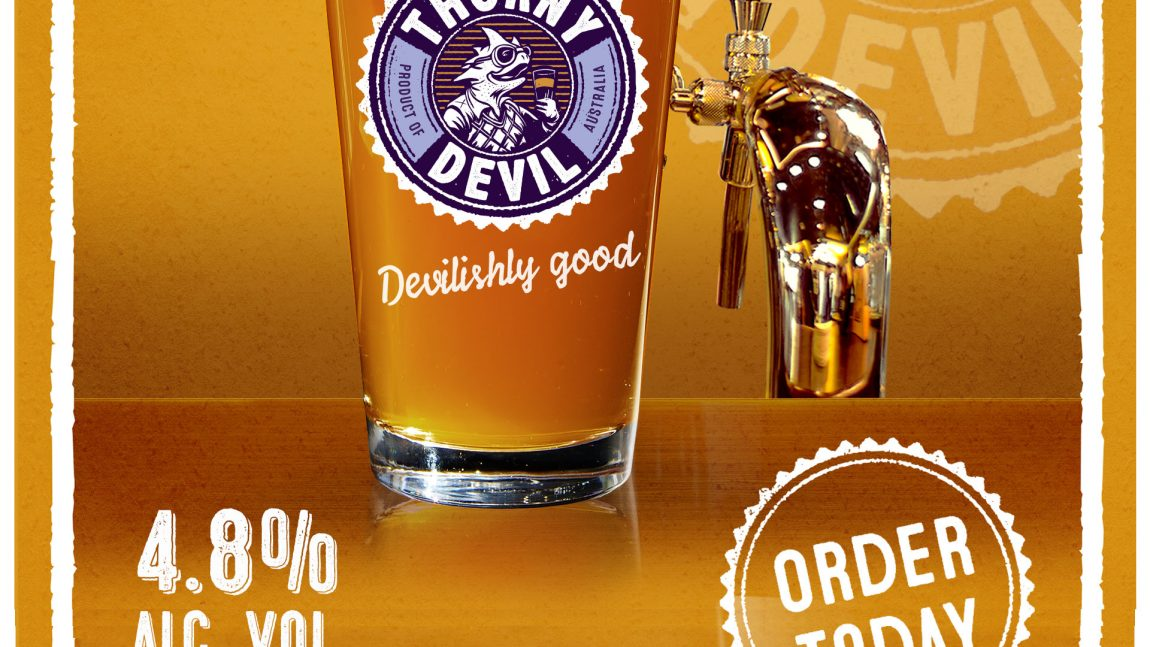 Australian Brewery, Australian beer, craft beer, craft beer pubs: Thorny Devil craft beer